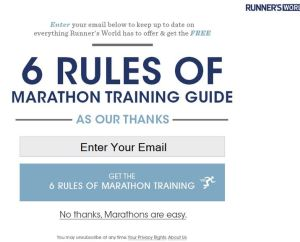 typical runners world