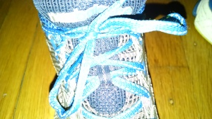 Shoelace knot.