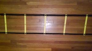 Agility Ladder Rungs
